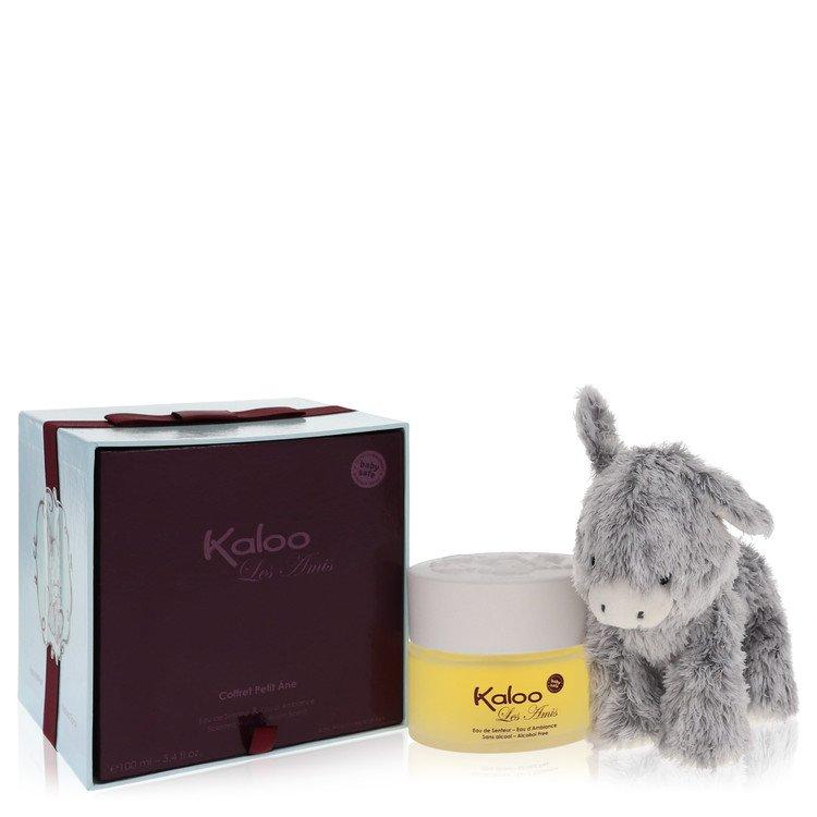 Kaloo Les Amis by Kaloo –  Eau De Senteur Spray / Room Fragrance Spray (Alcohol Free) + Free Fluffy Donkey 3.4 oz 100 ml for Men