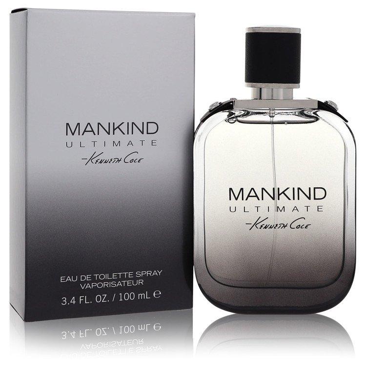 Kenneth Cole Mankind Ultimate by Kenneth Cole for Men Eau De Toilette Spray 3.4 oz