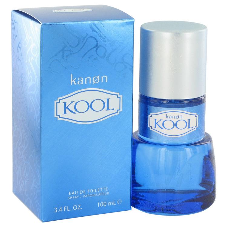 Kanon Kool by Kanon for Men Eau De Toilette Spray 3.4 oz