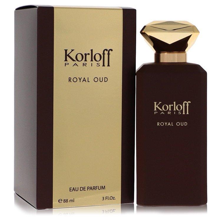 Korloff Royal Oud by Korloff Eau De Parfum Spray (Unisex) 3 oz for Women
