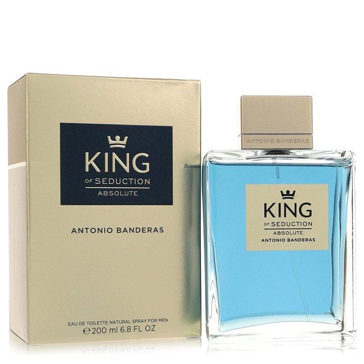King of Seduction Absolute by Antonio Banderas Eau De Toilette Spray 6.7 oz