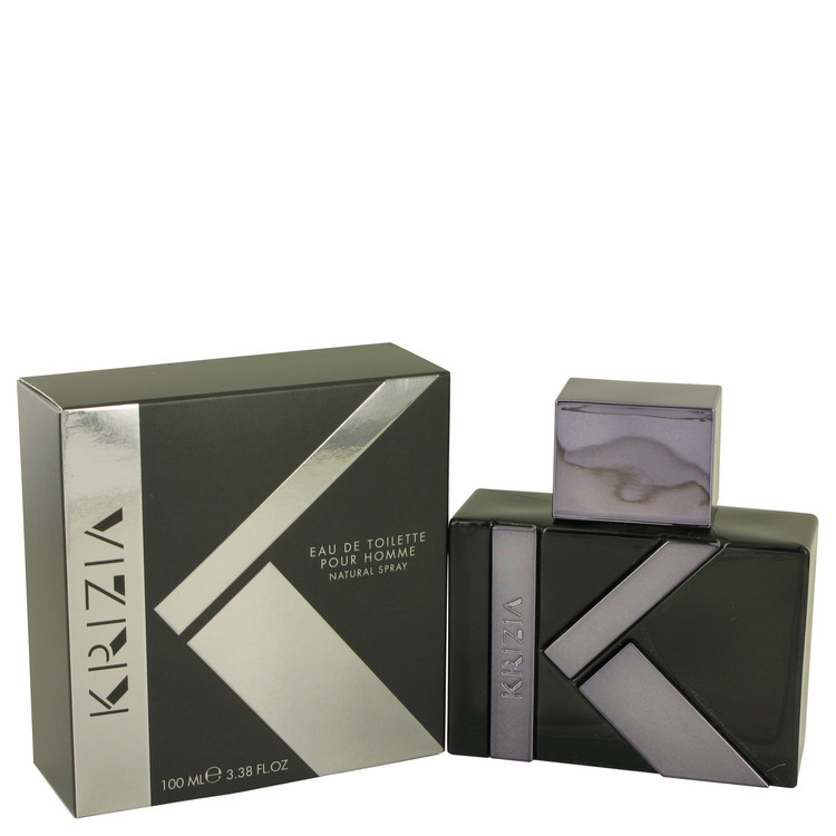 Krizia Pour Homme by Krizia for Men Eau De Toilette Spray 3.38 oz