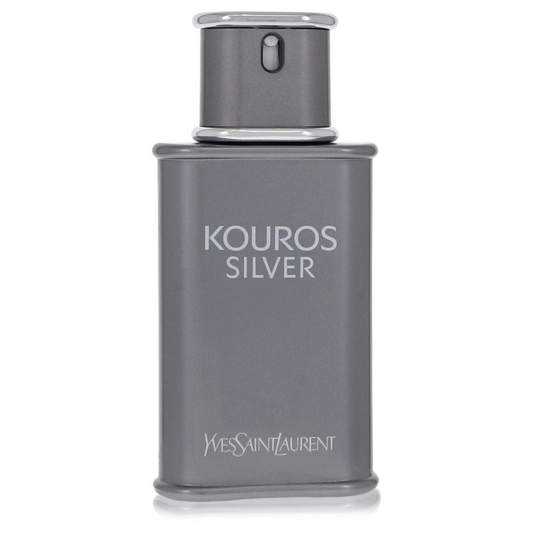 Kouros Silver Cologne 3.4 oz EDT Spray(Tester) for Men