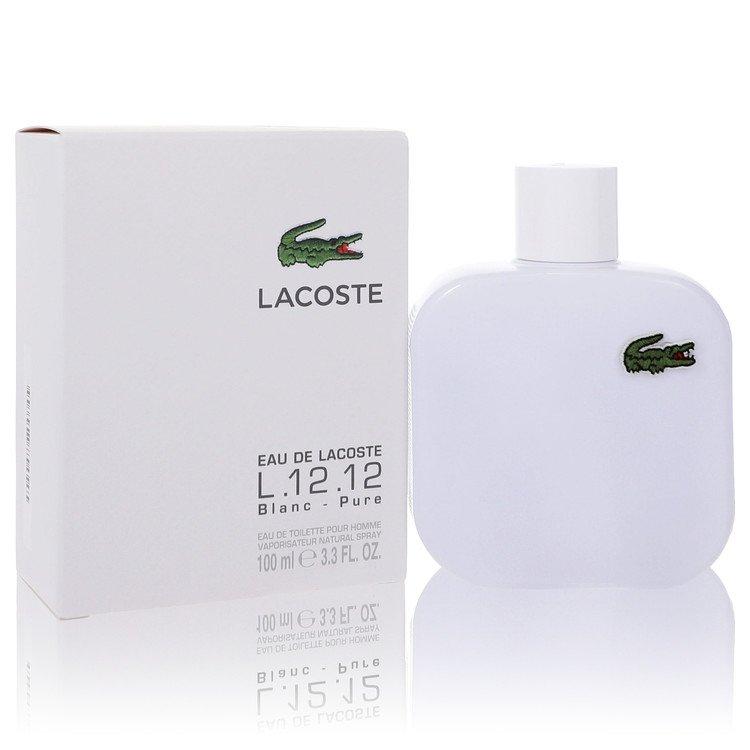 Lacoste Eau De Lacoste L.12.12 Blanc Cologne 3.3 oz EDT Spay for Men Spray