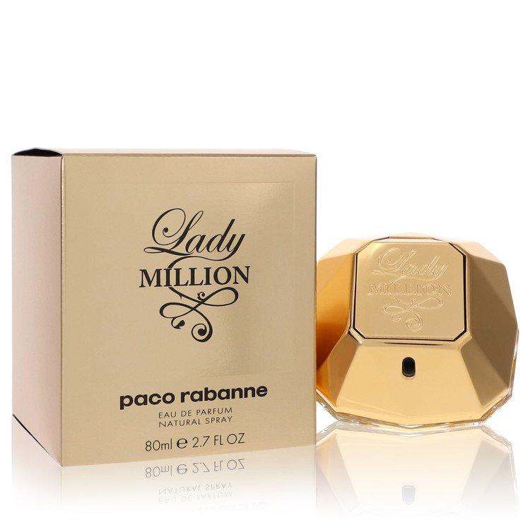 Lady Million by Paco Rabanne for Women Eau De Parfum Spray 2.7 oz