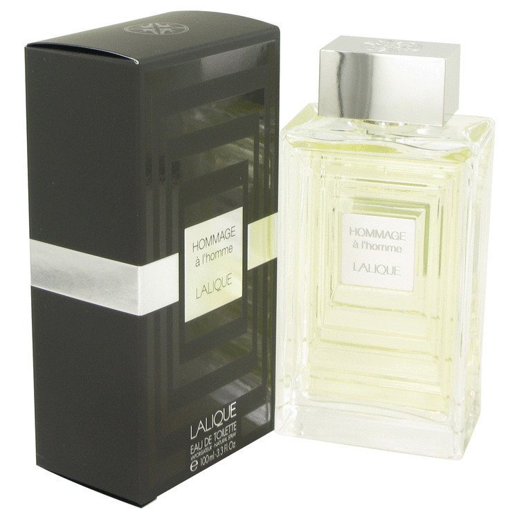 Lalique Hommage A L'homme Cologne by Lalique 3.3 oz EDT Spay for Men