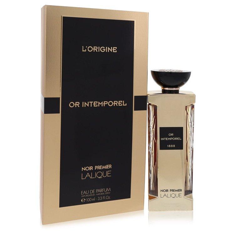 Lalique Or Intemporel by Lalique for Women Eau De Parfum Spray (Unisex) 3.3 oz