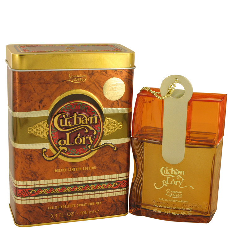 Cuban Glory by Lamis for Men Eau De Toilette Spray 3.3 oz