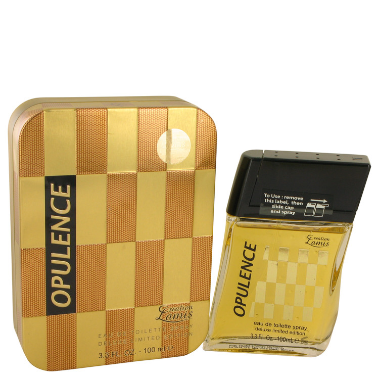 Lamis Opulence by Lamis for Men Eau De Toilette Spray Deluxe Limited Edition 3.3 oz