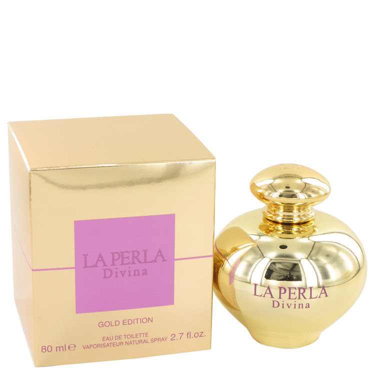 La Perla Divina Gold Perfume by Ungaro 2.7 oz EDT Spay for Women