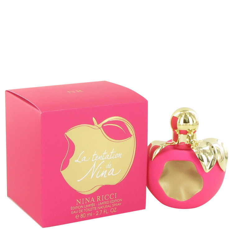 La Tentation De Nina Ricci Perfume 2.7 oz EDT Spray (Limited Edition) for Women