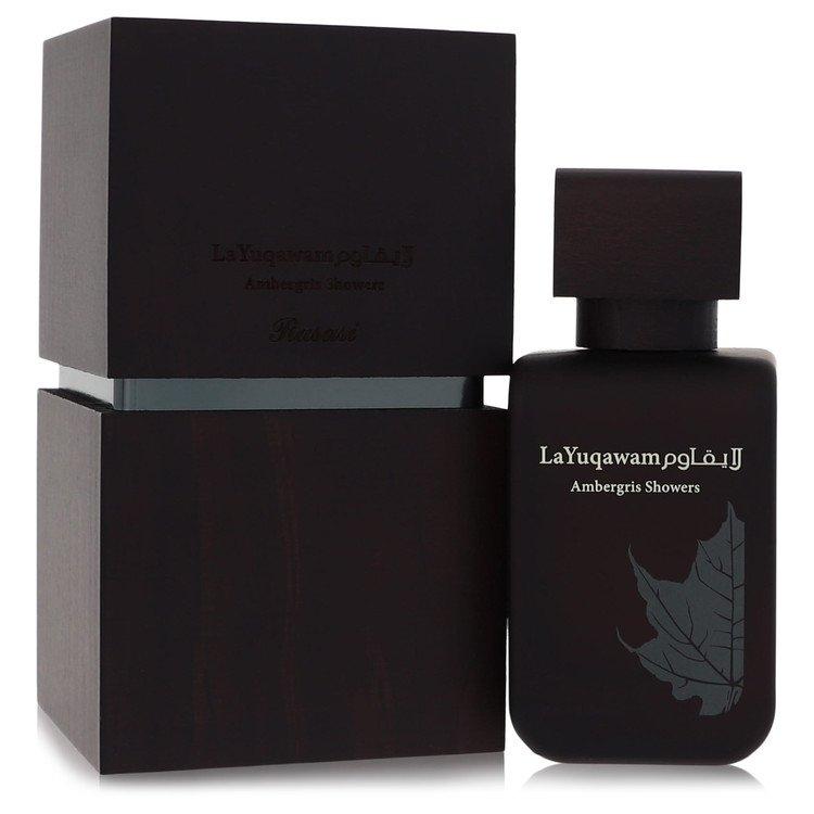 Ambergis Showers by Rasasi for Women Eau De Parfum Spray 2.5 oz