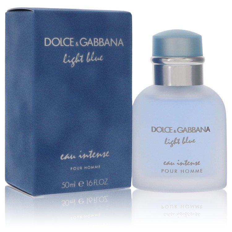 Light Blue Eau Intense by Dolce & Gabbana for Men Eau De Parfum Spray 1.7 oz