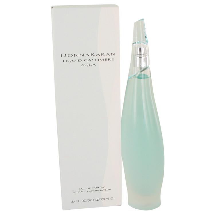 Liquid Cashmere Aqua by Donna Karan for Women Eau De Parfum Spray 3.4 oz