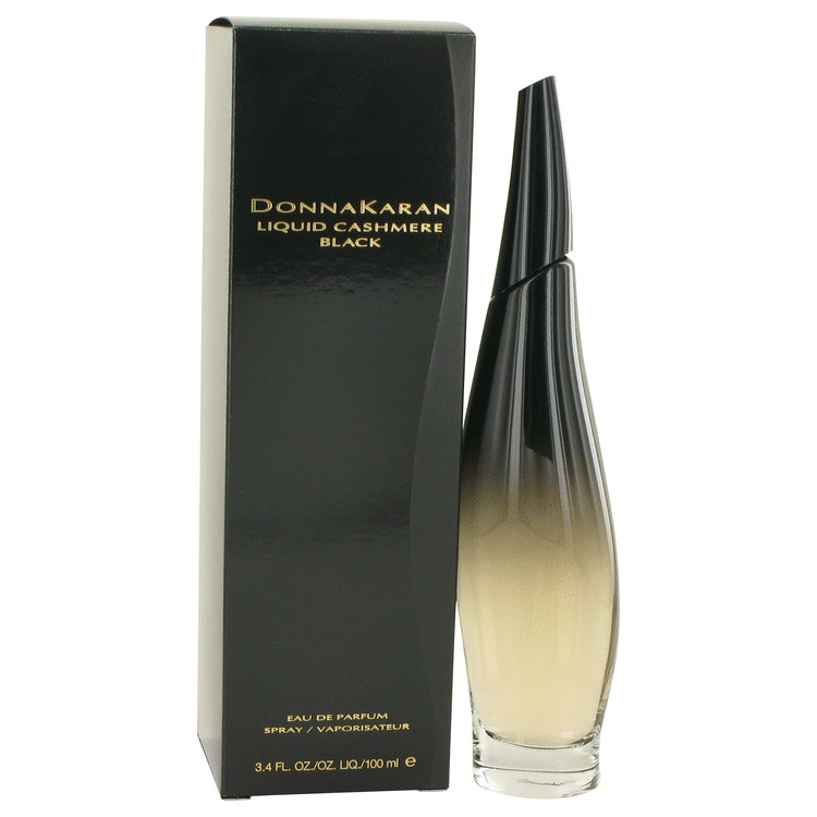 Liquid Cashmere Black Perfume by Donna Karan 3.4 oz EDP Spay for Women