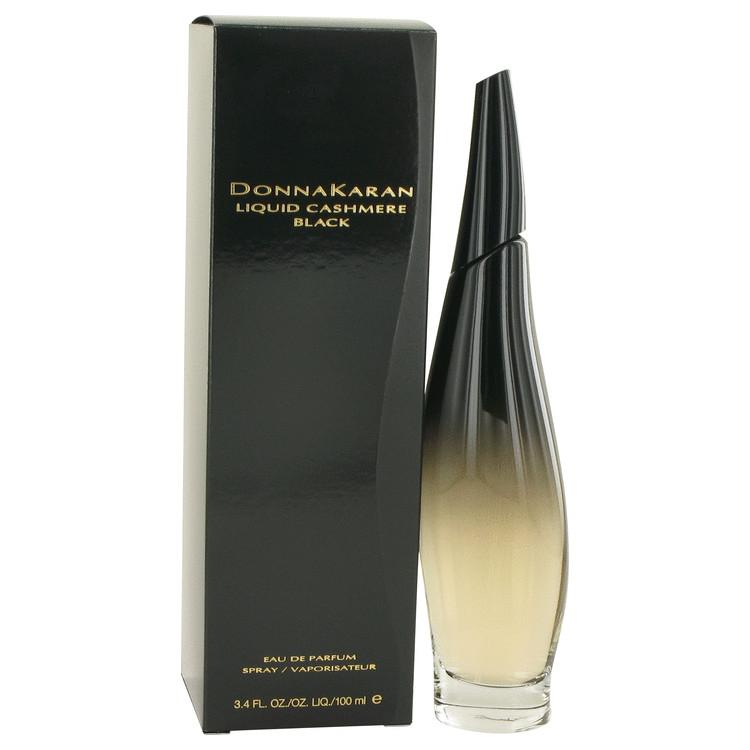 Liquid Cashmere Black by Donna Karan for Women Eau De Parfum Spray 3.4 oz