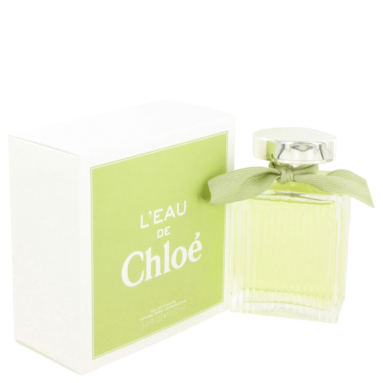 L\'eau De Chloe by Chloe for Women Eau De Toilette Spray 3.4 oz