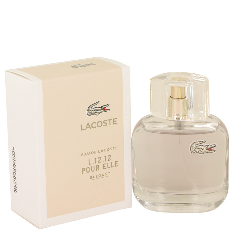 Lacoste Eau De Lacoste L.12.12 Elegant by Lacoste for Women Eau De Toilette Spray 1.7 oz