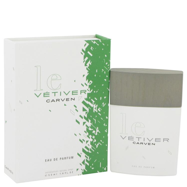 Le Vetiver by Carven for Men Eau De Parfum Spray 1.7 oz