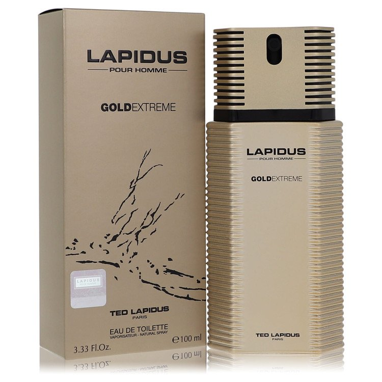 Lapidus Gold Extreme Cologne by Ted Lapidus 3.4 oz EDT Spay for Men