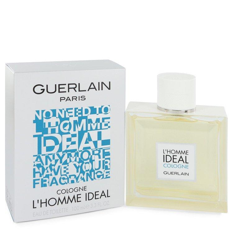 L'homme Ideal Cologne by Guerlain for Men Eau De Toilette Spray 3.3 oz