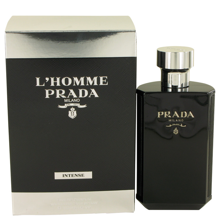 L'homme Intense Prada Cologne by Prada 3.4 oz EDP Spay for Men