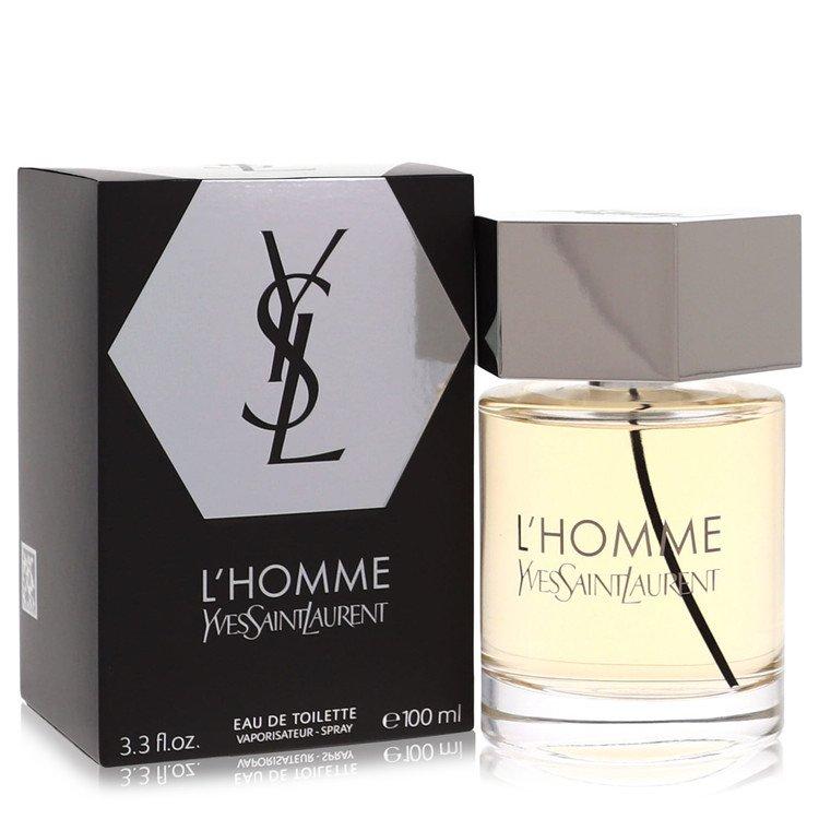 L'homme by Yves Saint Laurent for Men Eau De Toilette Spray 3.4 oz