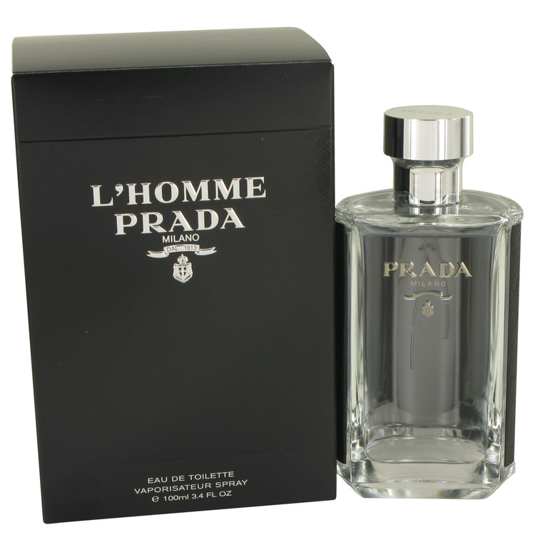 L'homme Prada Cologne by Prada 3.4 oz EDT Spray for Men