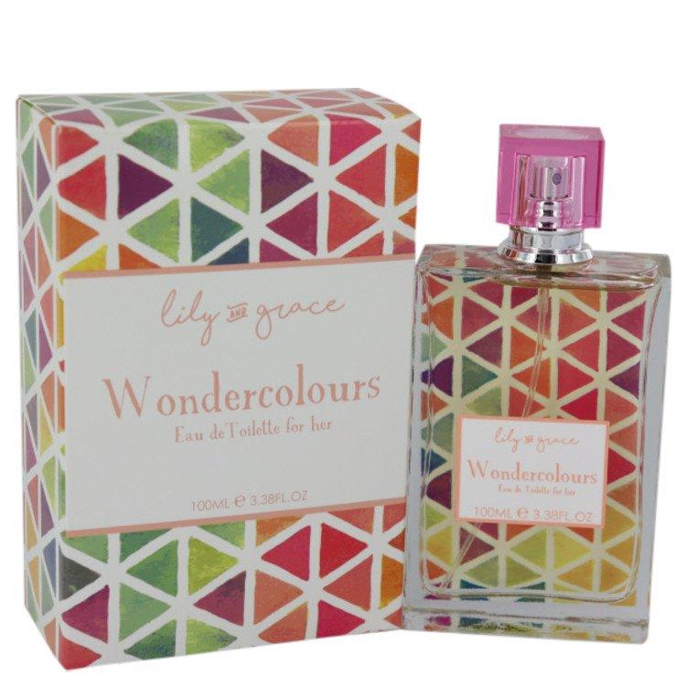Lily and Grace Wondercolours by Lily and Grace for Women Eau De Toilette Spray 3.38 oz