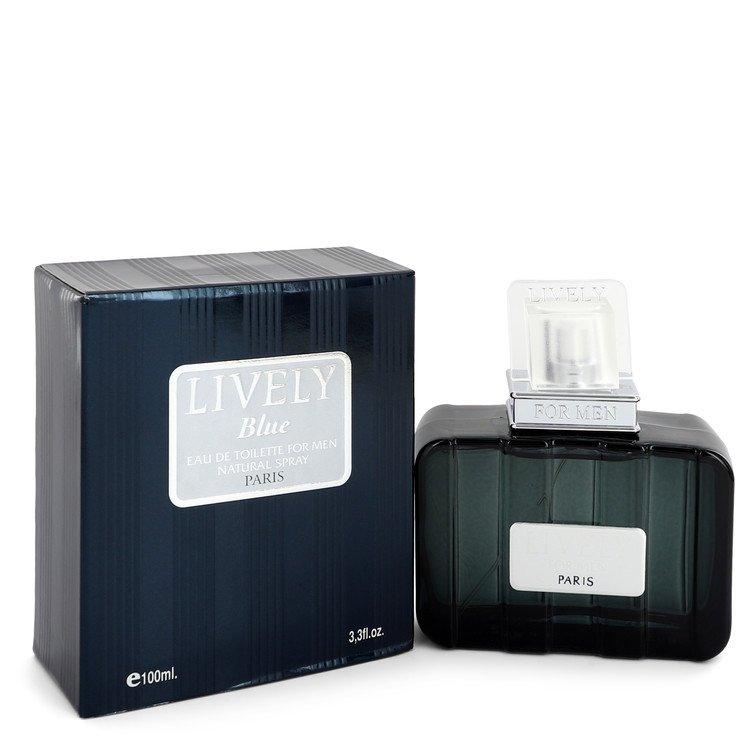 Lively Blue by Parfums Lively –  Eau De Toilette Spray 3.3 oz 100 ml for Men