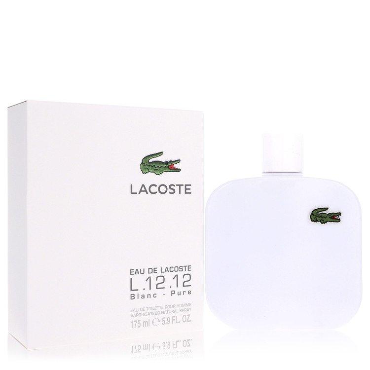 Lacoste Eau De Lacoste L.12.12 Blanc Cologne 5.9 oz EDT Spay for Men Spray