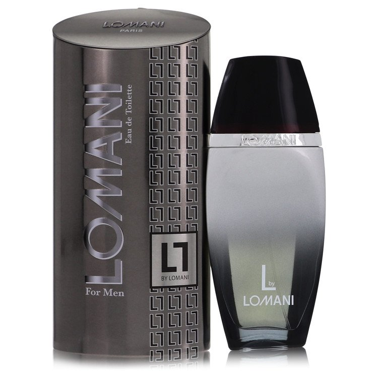 Lomani L by Lomani for Men Eau De Toilette Spray 3.4 oz