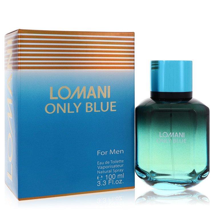 Lomani Only Blue by Lomani for Men Eau De Toilette Spray 3.3 oz