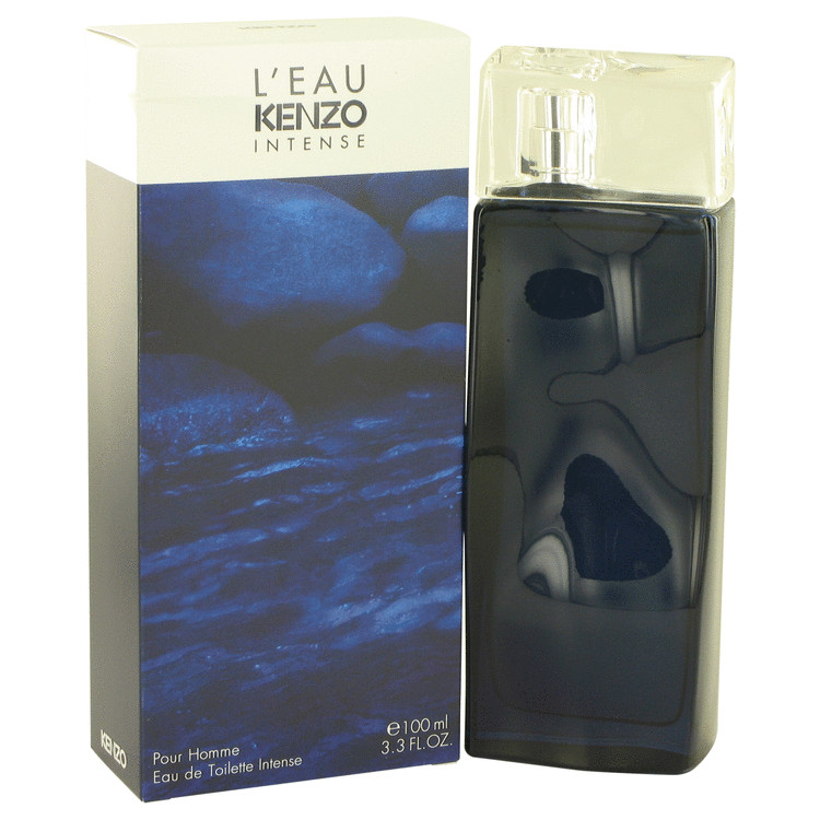 L'eau Par Kenzo Intense Cologne by Kenzo 3.3 oz EDT Spay for Men