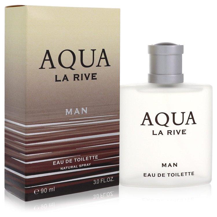 La Rive Aqua by La Rive for Men Eau De Toilette Spray 3 oz
