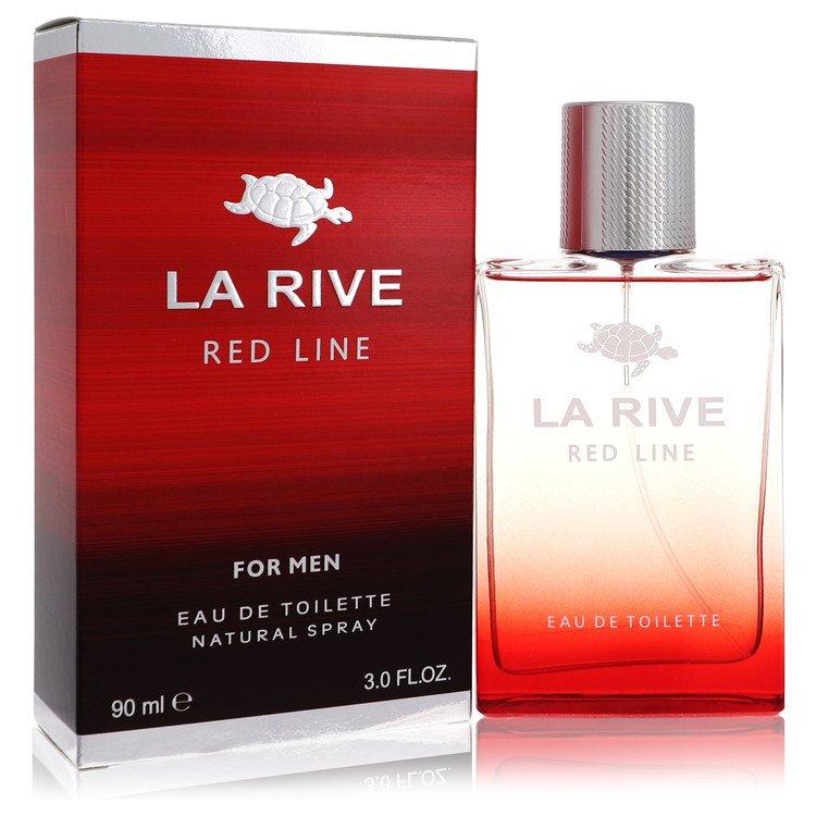 La Rive Red Line by La Rive –  Eau De Toilette Spray 3 oz 90 ml for Men