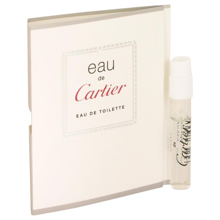 EAU DE CARTIER by Cartier for Men Vial (Unisex sample) .05 oz