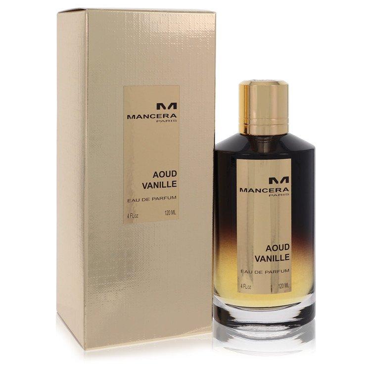 Mancera Aoud Vanille by Mancera for Women Eau De Parfum Spray (Unisex) 4 oz