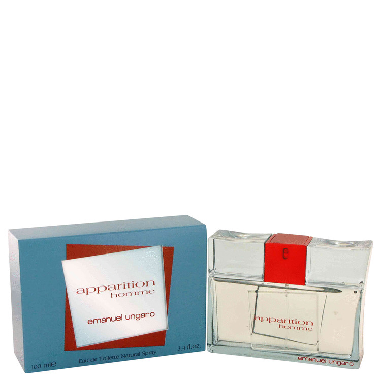 Apparition Cologne by Ungaro 3.4 oz EDT Spray for Men