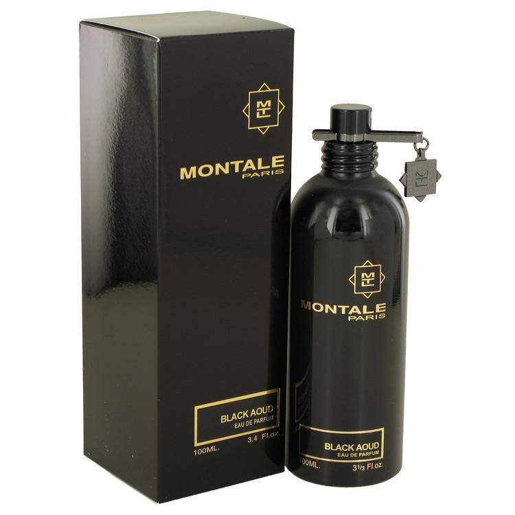 Montale Black Aoud by Montale for Women Eau De Parfum Spray (Unisex) 3.4 oz
