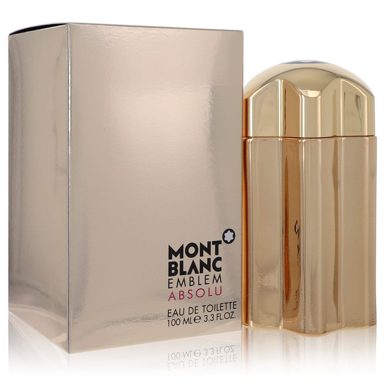 Montblanc Emblem Absolu Cologne by Mont Blanc 3.4 oz EDT Spay for Men
