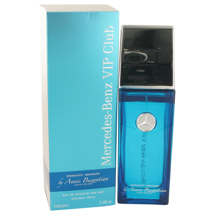 Mercedes Benz Vip Club Energetic Aromatic Cologne 3.4 oz EDT Spray (by Annie Buzantian) for Men