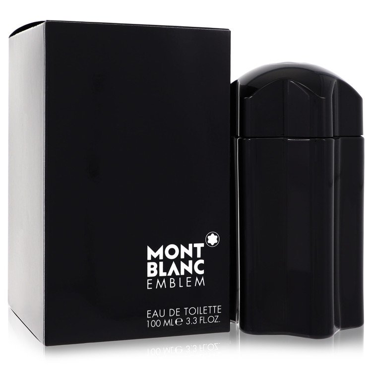 Montblanc Emblem by Mont Blanc –  Eau De Toilette Spray 3.4 oz 100 ml for Men