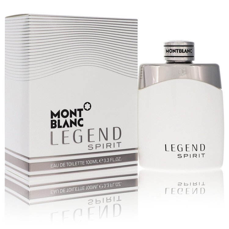 Montblanc Legend Spirit Cologne by Mont Blanc 3.3 oz EDT Spay for Men