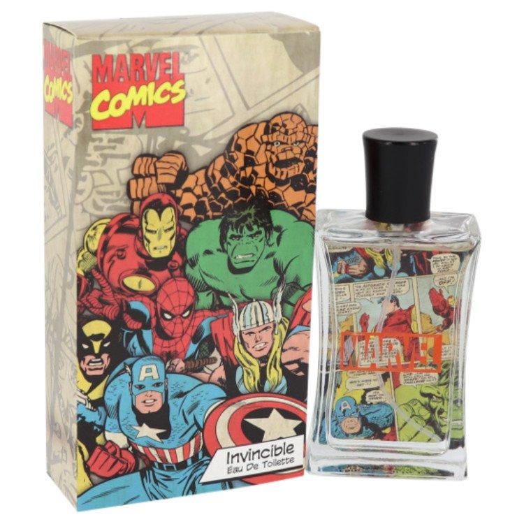 Maarvel Comics Invincible by Corsair for Men Eau De Toilette Spray 2.5 oz