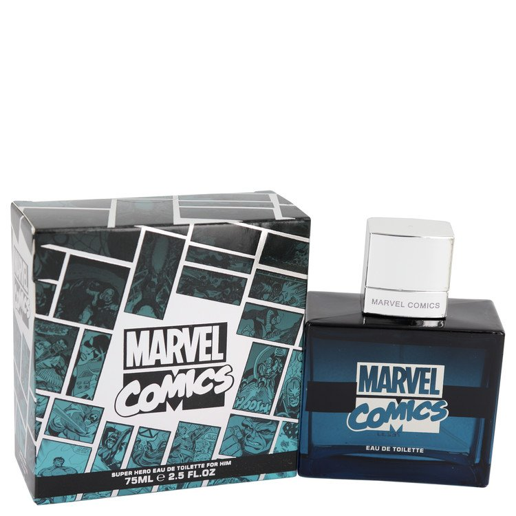 Marvel Comics Super Hero by Marvel for Men Eau De Toilette Spray 2.5 oz