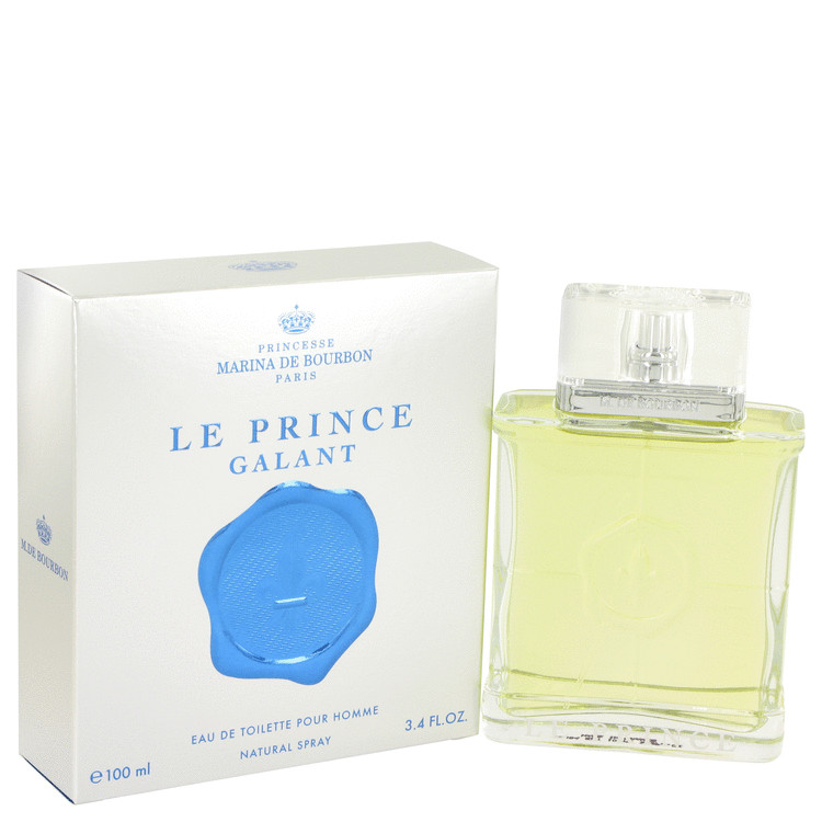 Marina De Bourbon Le Prince Galant by Marina De Bourbon for Men Eau De Toilette Spray 3.4 oz
