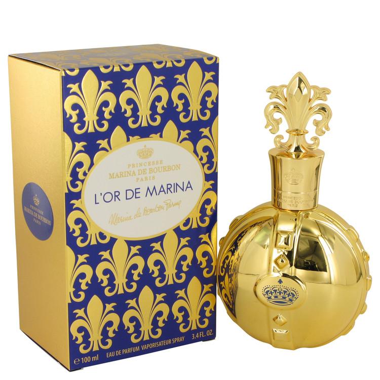 Marina De Bourbon L'or De Marina by Marina De Bourbon for Women Eau De Parfum Spray 3.4 oz