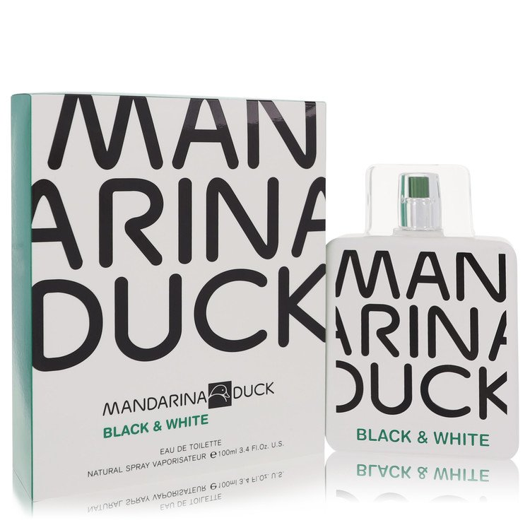 Mandarina Duck Black & White by Mandarina Duck for Men Eau De Toilette Spray 3.4 oz