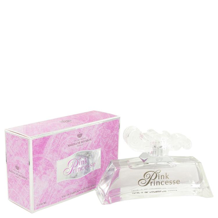 MARINA DE BOURBON Pink Princesse by Marina De Bourbon for Women Eau De Parfum Spray 3.3 oz